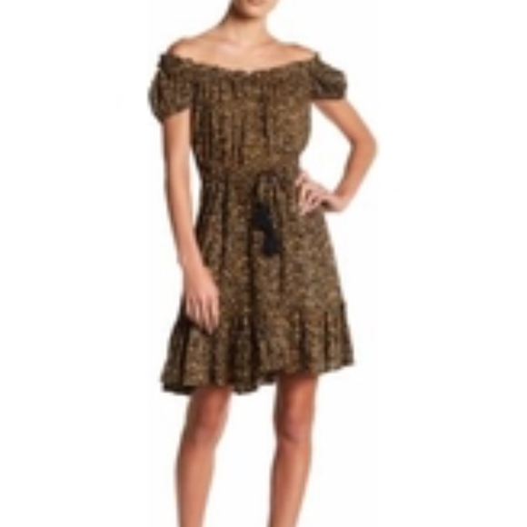 Tiare Hawaii Dresses & Skirts - Tiare Hawaii Riviera cheetah off shoulder dress